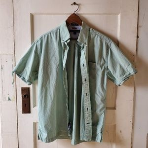 TOMMY HILFIGER Casual Short Sleeve Button Down